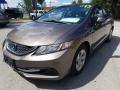 Honda Civic LX Sedan Polished Metal Metallic photo #7