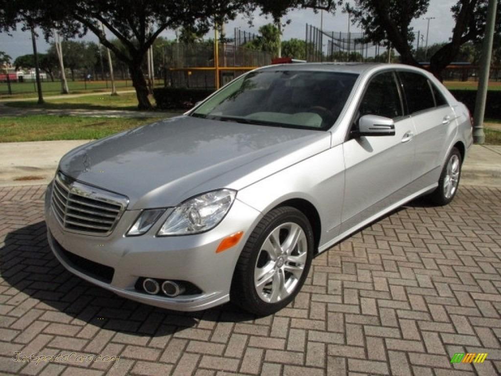 2011 E 350 Sedan - Iridium Silver Metallic / Ash/Black photo #1