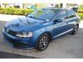 Volkswagen Jetta SE Silk Blue Metallic photo #4
