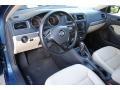 Volkswagen Jetta SE Silk Blue Metallic photo #14