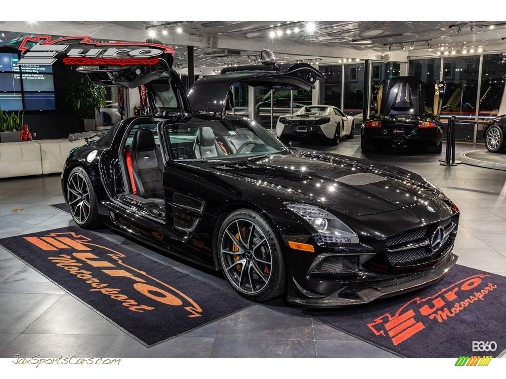 2014 SLS AMG GT Coupe Black Series - Obsidian Black Metallic / designo Black w/Alcantara photo #1