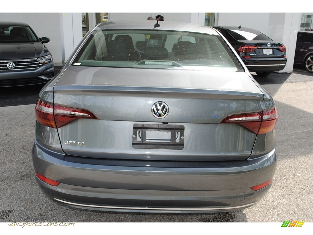 2019 Jetta S - Platinum Gray Metallic / Titan Black photo #7