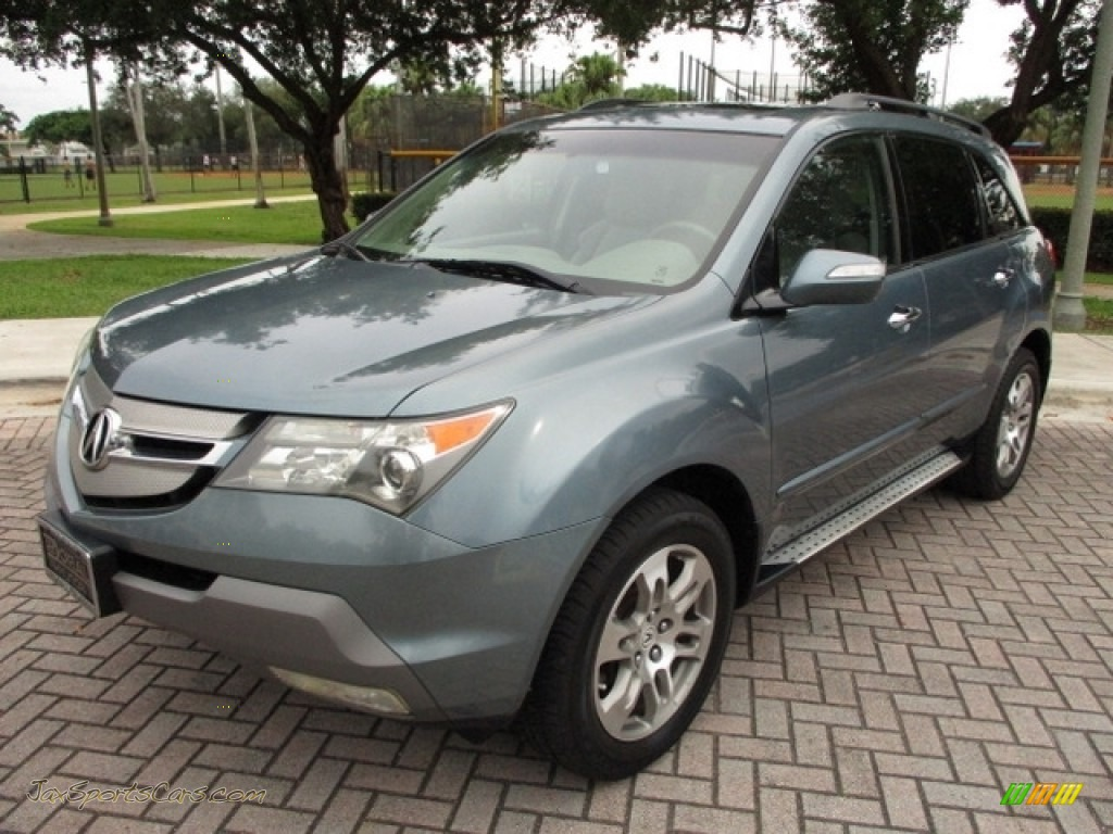 Sterling Gray Metallic / Taupe Acura MDX