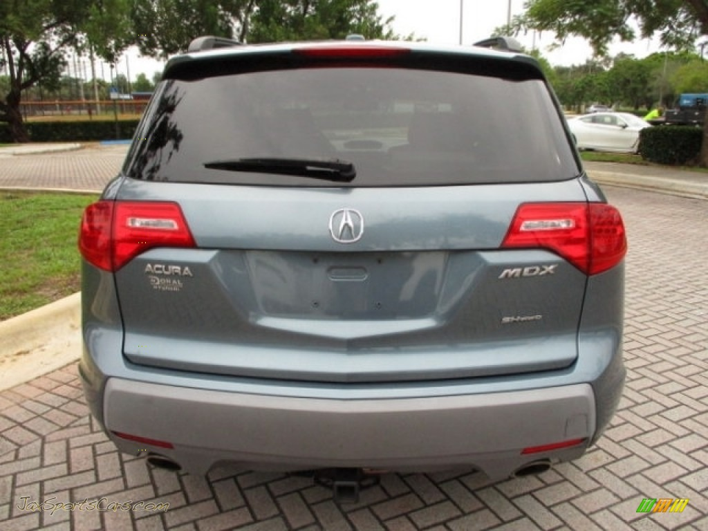 2008 MDX  - Sterling Gray Metallic / Taupe photo #9