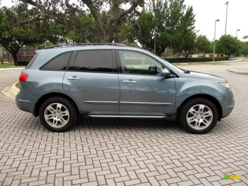 2008 MDX  - Sterling Gray Metallic / Taupe photo #13