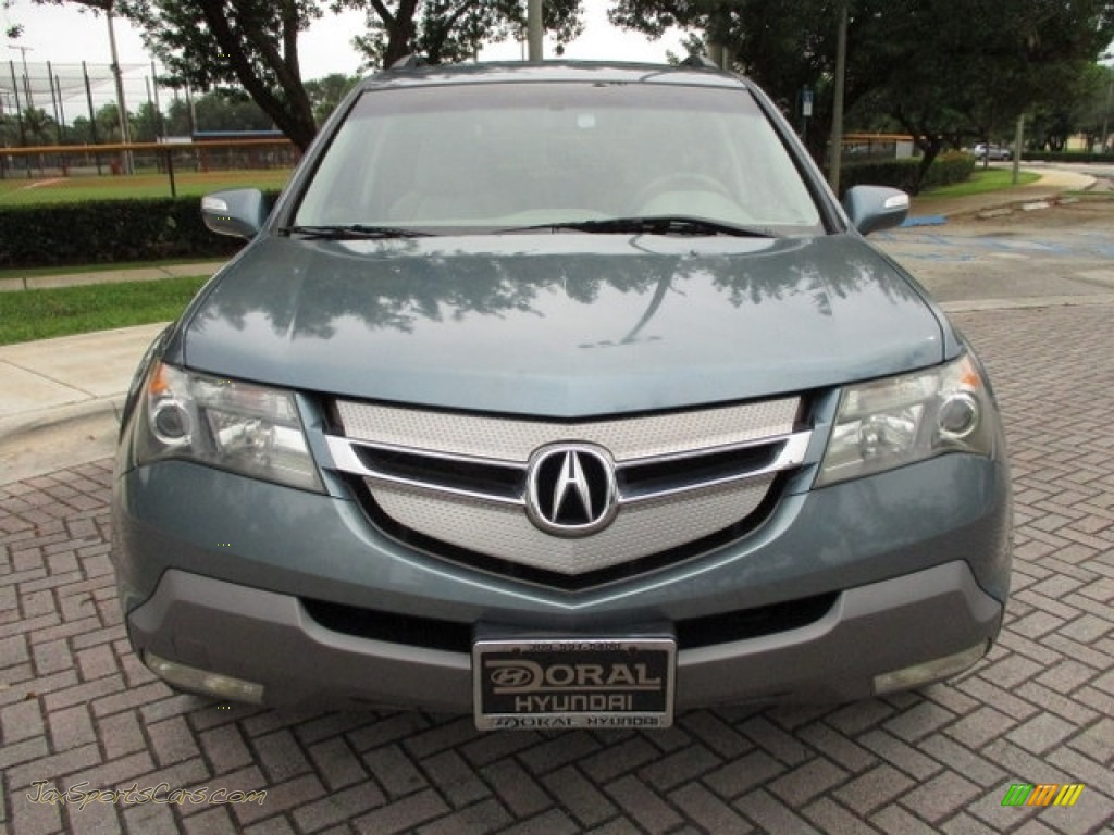 2008 MDX  - Sterling Gray Metallic / Taupe photo #28