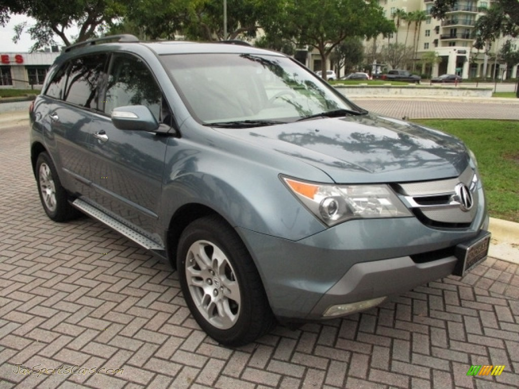2008 MDX  - Sterling Gray Metallic / Taupe photo #65