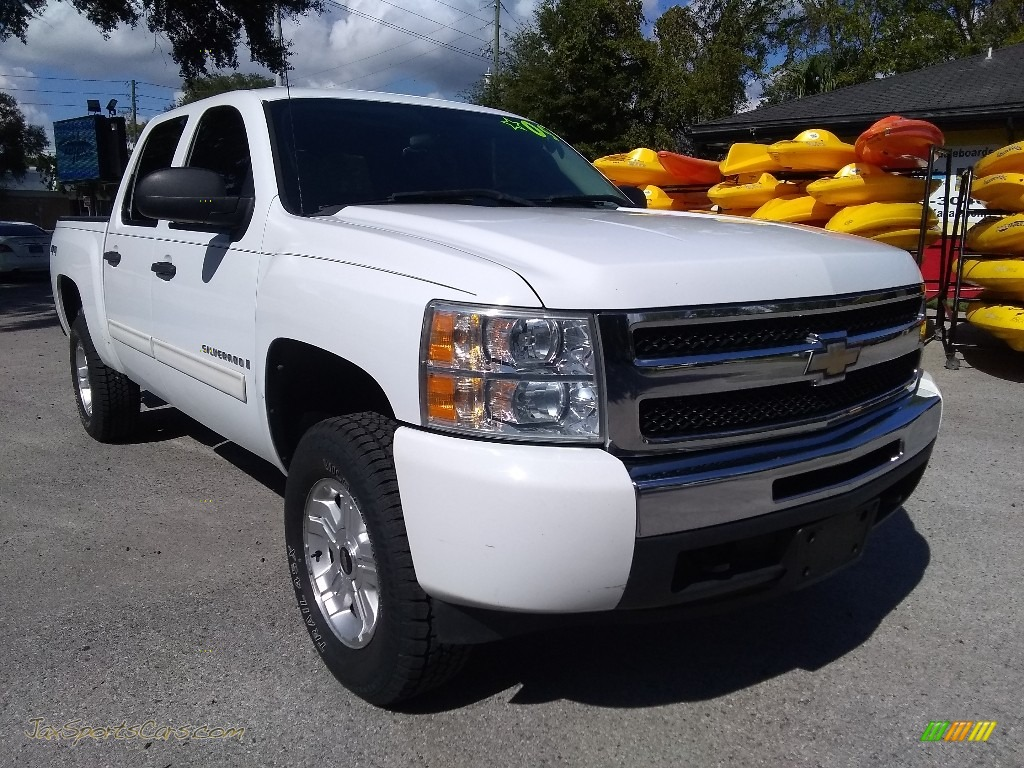2009 Silverado 1500 LT Crew Cab 4x4 - Summit White / Ebony photo #1