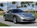 Porsche 911 Carrera Coupe Arctic Silver Metallic photo #1