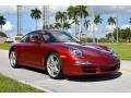 Porsche 911 Carrera S Coupe Ruby Red Metallic photo #2