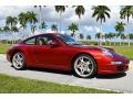 Porsche 911 Carrera S Coupe Ruby Red Metallic photo #3