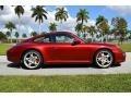Porsche 911 Carrera S Coupe Ruby Red Metallic photo #4