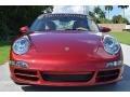 Porsche 911 Carrera S Coupe Ruby Red Metallic photo #21