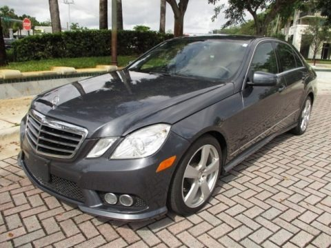 Steel Grey Metallic 2010 Mercedes-Benz E 350 Sedan