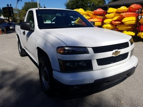Summit White 2012 Chevrolet Colorado Work Truck Regular Cab