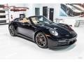 Porsche 911 Carrera S Cabriolet Black photo #1