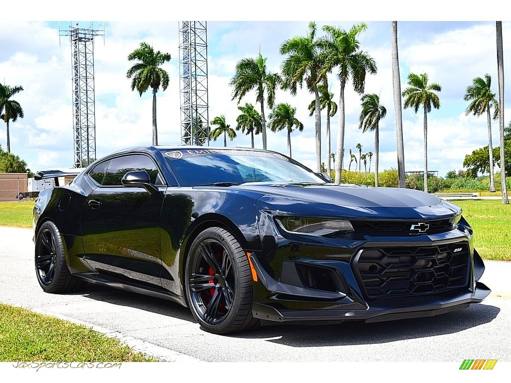 2019 Camaro ZL1 Coupe - Black / Jet Black photo #1
