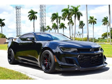 Black 2019 Chevrolet Camaro ZL1 Coupe