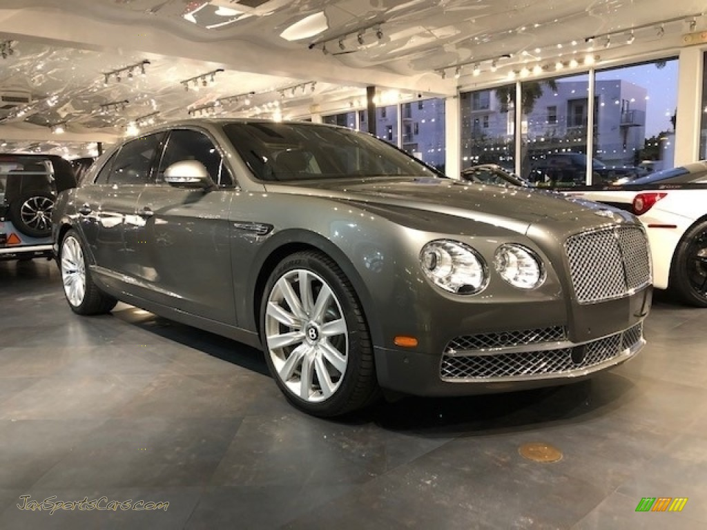 2014 Flying Spur W12 - Light Tudor Gray / Beluga photo #1