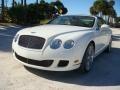 Bentley Continental GTC Speed Glacier White photo #35