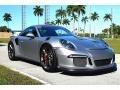 Porsche 911 GT3 RS GT Silver Metallic photo #11