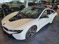BMW i8 Giga World Crystal White Pearl Metallic photo #5