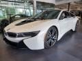 BMW i8 Giga World Crystal White Pearl Metallic photo #6