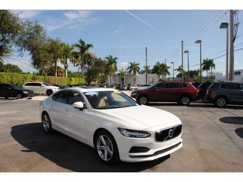 Ice White 2017 Volvo S90 T5