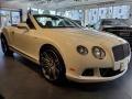 Bentley Continental GTC Speed Arctica White photo #1