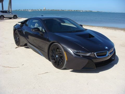 Sophisto Grey Metallic 2015 BMW i8 Mega World