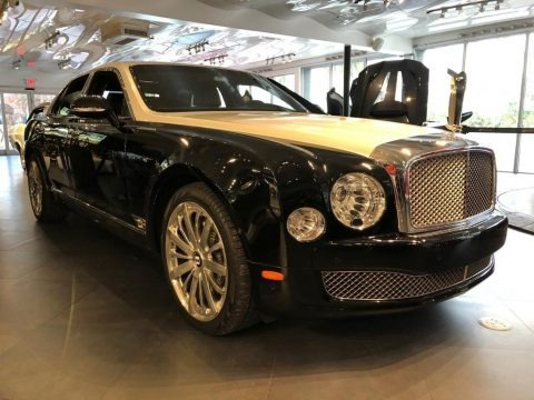 Black Crystal Metallic 2016 Bentley Mulsanne