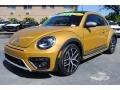 Volkswagen Beetle 1.8T Dune Coupe Sandstorm Yellow Metallic photo #5