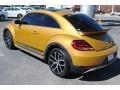 Volkswagen Beetle 1.8T Dune Coupe Sandstorm Yellow Metallic photo #6