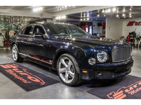Black Sapphire Metallic 2016 Bentley Mulsanne Speed