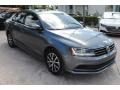Volkswagen Jetta SE Platinum Gray Metallic photo #2
