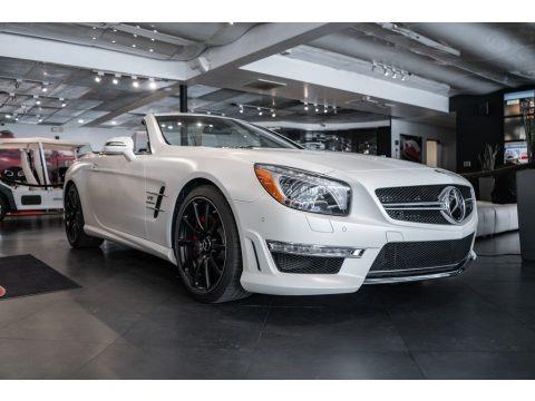 designo Magno Cashmere White 2013 Mercedes-Benz SL 65 AMG Roadster
