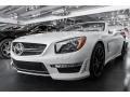 Mercedes-Benz SL 65 AMG Roadster designo Magno Cashmere White photo #3