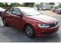 Volkswagen Jetta SE Cardinal Red Metallic photo #2
