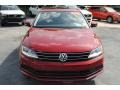 Volkswagen Jetta SE Cardinal Red Metallic photo #3