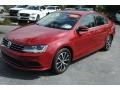 Volkswagen Jetta SE Cardinal Red Metallic photo #4
