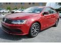 Volkswagen Jetta SE Cardinal Red Metallic photo #5
