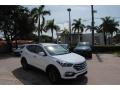 Hyundai Santa Fe Sport  Pearl White photo #1
