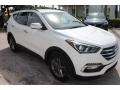 Hyundai Santa Fe Sport  Pearl White photo #2