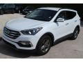 Hyundai Santa Fe Sport  Pearl White photo #4