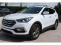 Hyundai Santa Fe Sport  Pearl White photo #5