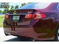 Acura TSX Sedan Basque Red Pearl photo #7