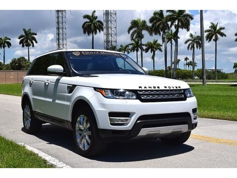Fuji White 2016 Land Rover Range Rover Sport HSE