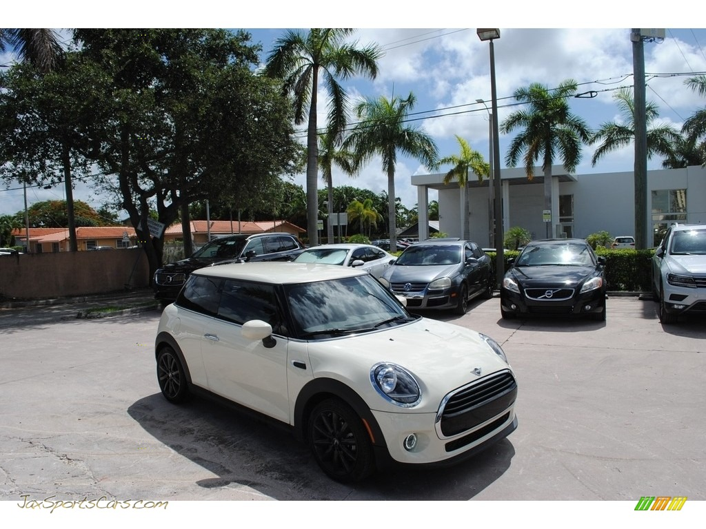 2020 Hardtop Cooper 2 Door - Pepper White / Carbon Black photo #1