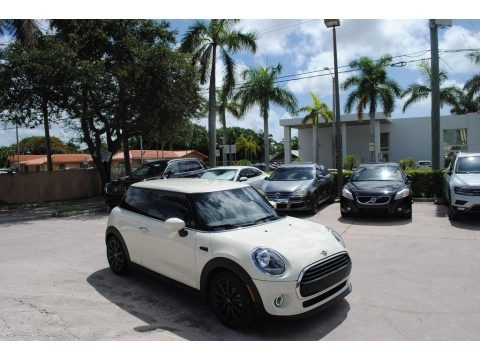 Pepper White 2020 Mini Hardtop Cooper 2 Door