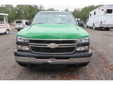 Dark Green Metallic 2006 Chevrolet Silverado 1500 Work Truck Regular Cab